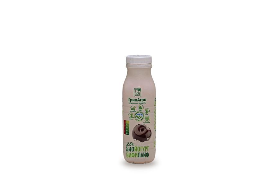 Биойогурт «Бифилайф» питьевой вишня 2,5%