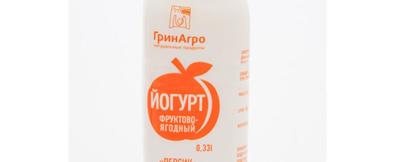 Питьевой йогурт с персиком