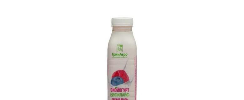 Биойогурт «Бифилайф» питьевой с лесными ягодыми 2,5%