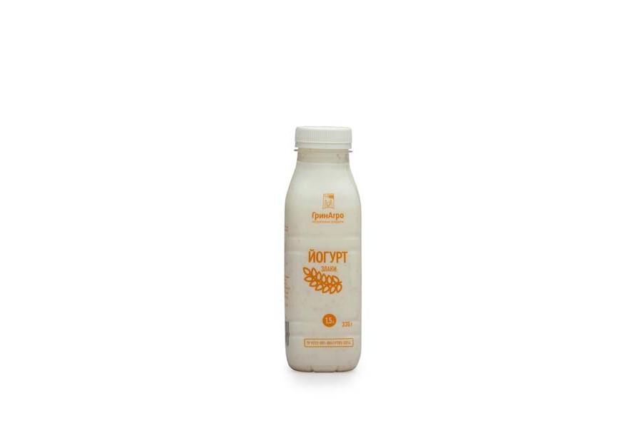 Йогурт питьевой со злаками 1,5 %