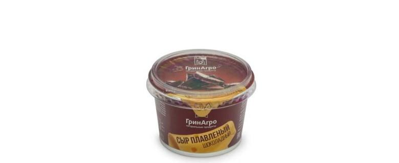 Сыр плавленый шоколадный