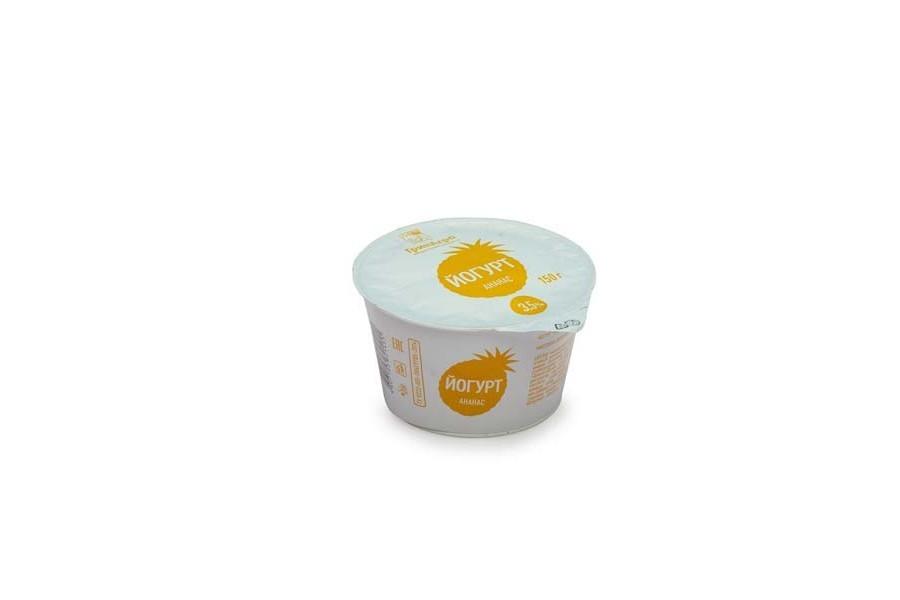 Йогурт десертный с ананасом 3,5%