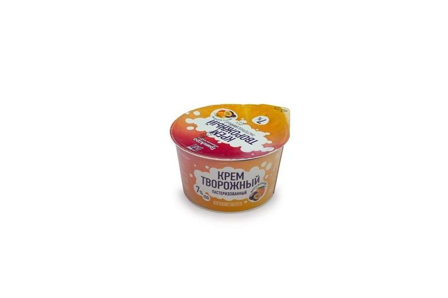 Крем творожный со вкусом манго-маракуйя