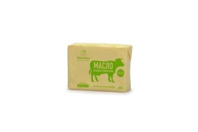 Масло сладко-сливочное несоленое крестьянское ГОСТ 72,5%