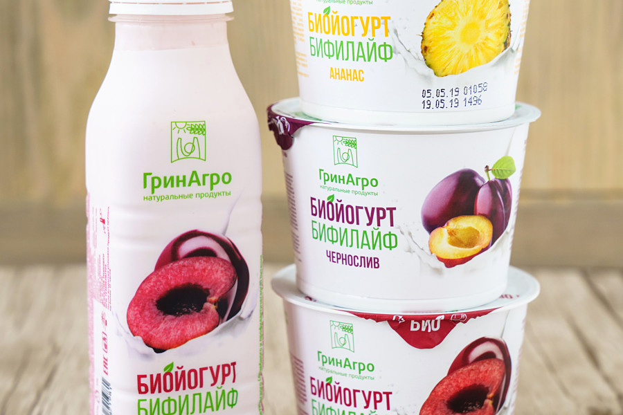 Самые сочные плоды в новых вкусах биойогурта «Бифилайф»